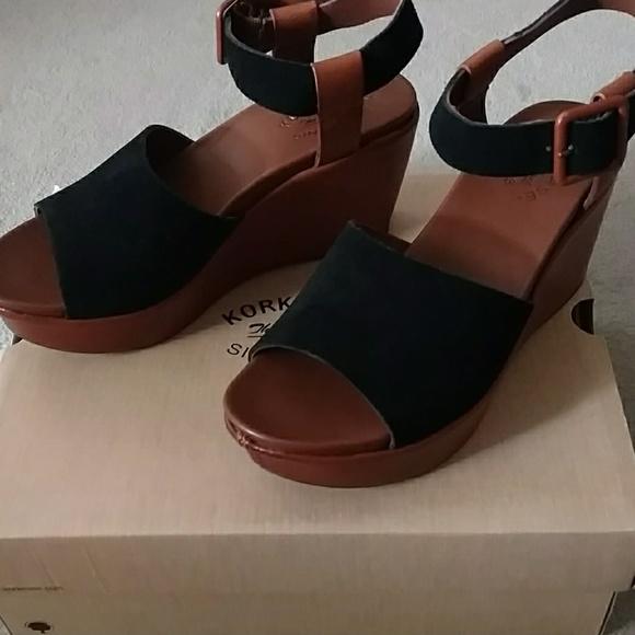 e36a70a6641 Kork-Ease Keirn Black Avana(Brown) Suede Size 8